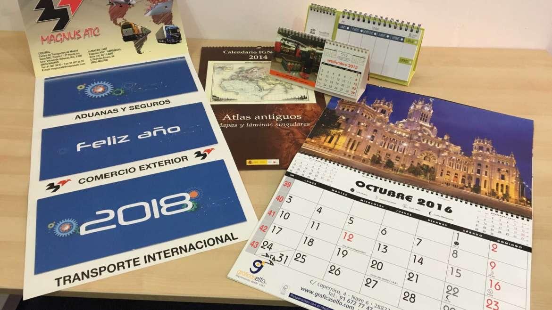Calendario varios Formatos